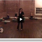 Watch: Wall Folds Yoga for Athletes Short Practice