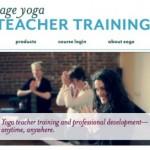 New Site: sageyogateachertraining.com